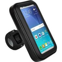 Suporte De Guidao P/ Smartphone Até 5.7 Bi095 - Atrio - Unissex-Preto
