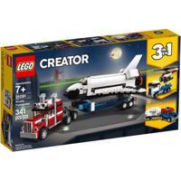 Lego Creator - 3 Em 1 - Caminhões E Ônibus Espacial - 31091