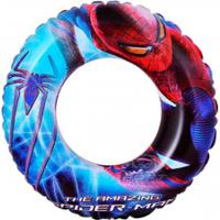 Bóia Circular Bestway Homem Aranha - Infantil - Azul/Vermelho