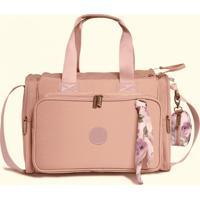 Bolsa Térmica Maternidade Masterbag Baby Anne Flora | Cor: Rose