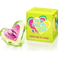 Perfume Feminino Tutti Frutti Love Agatha Ruiz De La Prada Eau De Toilette 80Ml - Feminino-Incolor
