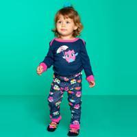Pijama Manga Longa Puket Chuva Baby Azul Marinho Azul Marinho