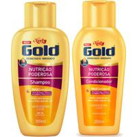 Kit Shampoo + Condicionador Niely Gold Nutrição Poderosa 1 Unidade