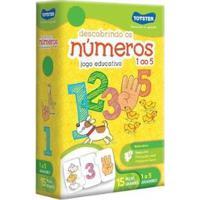 Quebra-Cabeça 15 Peças Matemática - Descobrindo Os Números 1 Ao 5 - Unissex-Colorido