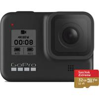 Câmera Digital Gopro Hero 8 Black Com 12 Mp, Gravação Em 4K - Hero8Kit