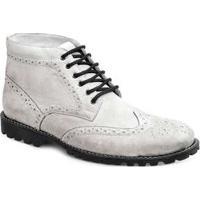 Bota Dress Boot Masculina Sandro Moscoloni Usa Branca White