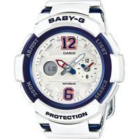 Relógio Baby-G Bga-210-7B2Dr - Unissex-Branco