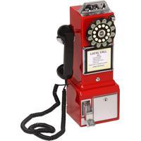 Telefone Vintage Classic Watson Vermelho