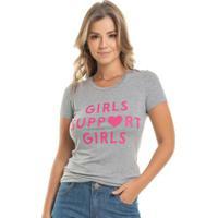 Blusa Girls Cinza