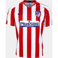 Camisa Atlético Madrid Home 19/20 S/Nº Torcedor Nike Masculina - Masculino
