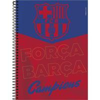 Caderno Foroni Barcelona Força Barça 10 Matérias