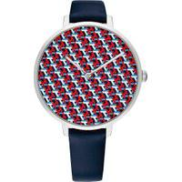 Relógio Tommy Hilfiger Feminino Couro Azul - 1782153