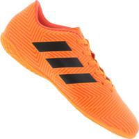 Chuteira Futsal Adidas Nemeziz Tango 18.4 Ic - Adulto - Laranja Preto e7058fbc905f3