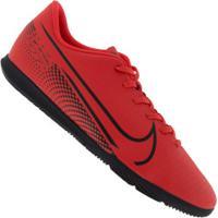 Chuteira Futsal Nike Mercurial Vapor 13 Club Ic - Adulto - Coral/Preto
