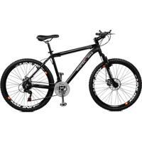 Bicicleta Master Bike Aro 26 Volcano Freio À Disco A-36 21 Marchas - Unissex