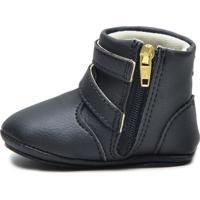 Sapatinho Infantil Sw Shoes Linha Bebe Preto
