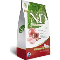 Ração Farmina N&D Adulto Raças Pequenas Frango E Romã 2,5 Kg