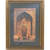 Quadro Mesquita Sheik Na Cidade De Isfahan