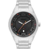 Relógio Orient Masculino Sport Analógico - Masculino-Prata