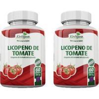 Kit 2 X Licopeno De Tomate Katigua 60 Caps. - Unissex