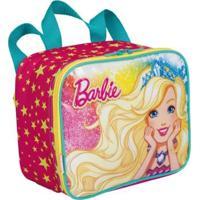 Lancheira Infantil Barbie 19M Plus - Feminino-Rosa
