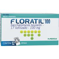 Floratil 100Mg 12 Cápsulas Gel Dura