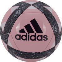 ... Bola De Futebol De Campo Adidas Starlancer V - Rosa d6d0d664da870