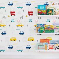 Papel De Parede Infantil Fun Traffic 3 Metros X 44 Cm