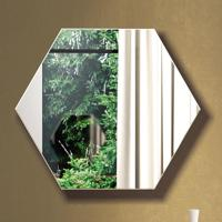 Espelho Hexágono 100% Mdf Es3 69 Cm Of White - Dalla Costa