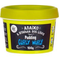 Creme Para Pentear Lola Cosmetics Curly Wurly Pudding 100G - Unissex-Incolor