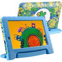 """Tablet Infantil Multilaser Discovery Kids Nb290 7"""" 8Gb Wi-Fi Azul"""