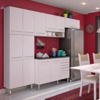 Cozinha Compacta Jasmin Elis Branco