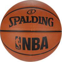 Bola De Basquete Spalding Fastbreak Nba 7 - Laranja