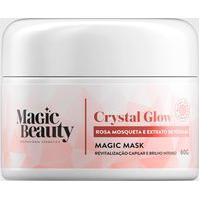 Amaro Feminino Magic Beauty Mini Máscara Condicionadora Magic Mask Crystal Glow - 60G, Neutra