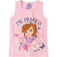 Blusa Princesinha Sofia® Menina Malwee Kids