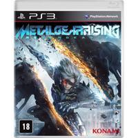 Jogo Metal Gear: Rising Revengeance Para Playstation 3 (Ps3)