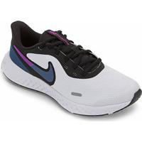 Tênis Nike Revolution 5 Feminino - Feminino-Branco+Azul