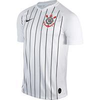Camisa Corinthians I 19/20 S/Nº Estádio Nike Masculina - Masculino