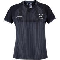 Camiseta Do Botafogo Care - Feminina - Preto