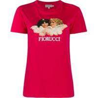 Fiorucci Camiseta 'Vintage Angels' - Rosa