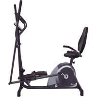 Bicicleta 2 Em 1 Horizontal + Eliptico Dream Mag5000 D - Unissex