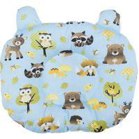 Travesseiro De Bebê Anatômico Floresta Azul