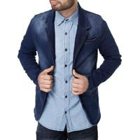 Blazer Jeans Masculino Bivik Azul