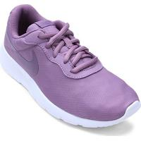 Tênis Infantil Nike Tanjun Masculino - Masculino-Roxo+Branco
