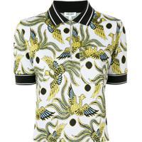 Kenzo Camisa Polo 'Flying Phoenix' - Branco