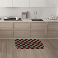 Tapete De Cozinha Mdecore Natal Colorido 40X60Cm