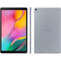 "Tablet Samsung Galaxy Tab A Prata Com Tela 10.1"", Wi-Fi, 32Gb E Camêra 8 Mp - Sm-T510Nzslzto"