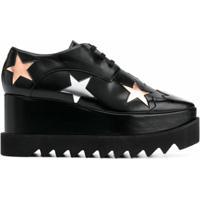 Stella Mccartney Sapato Flatform Elyse - Preto