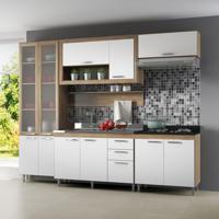 Cozinha Compacta Adriane Ii 11 Pt 3 Gv Argila