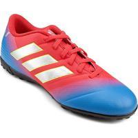 6e7c405bcb Netshoes  Chuteira Society Adidas Nemeziz Messi 18 4 Tf - Unissex